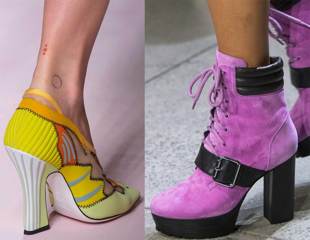 Яркая женская обувь 2019