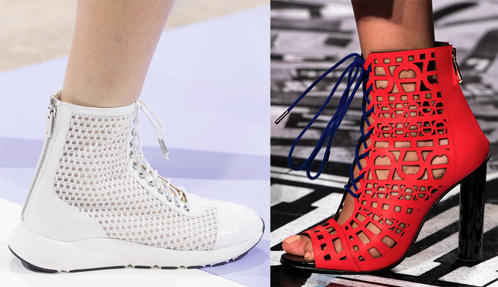 Легкая летняя обувь