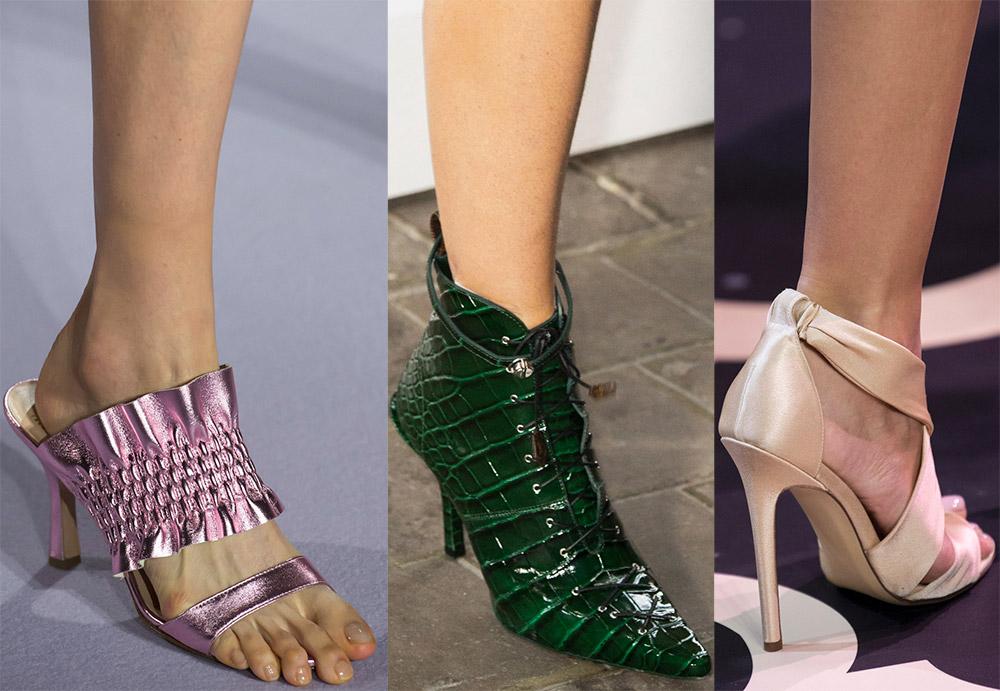 Женская обувь тренды 2019