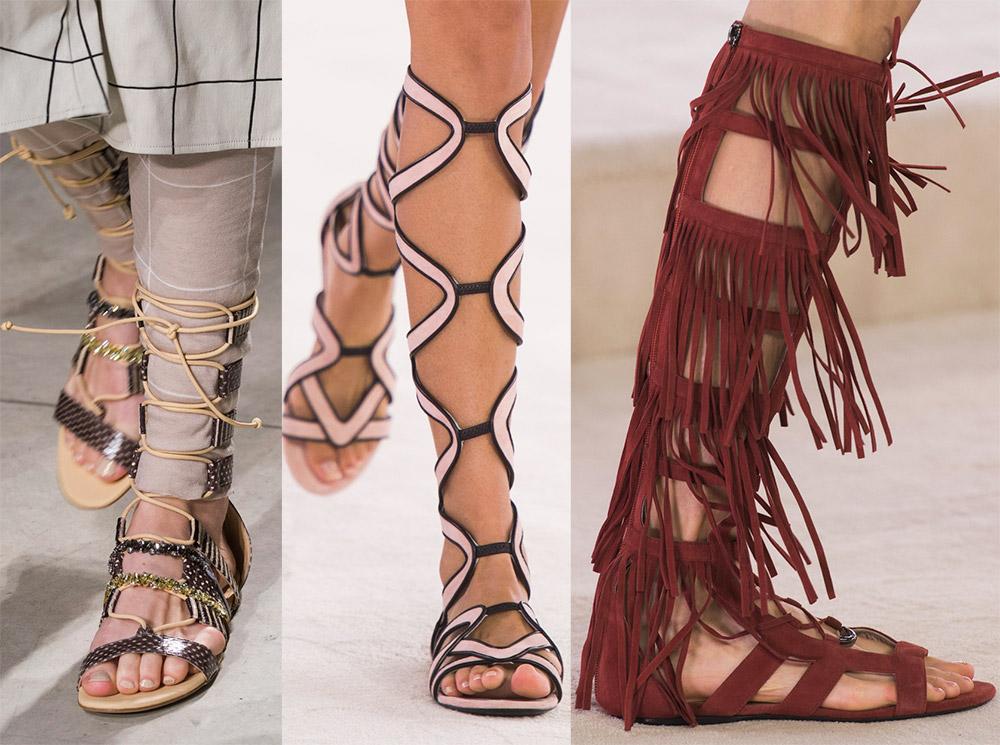 Летние сандалии для девушек