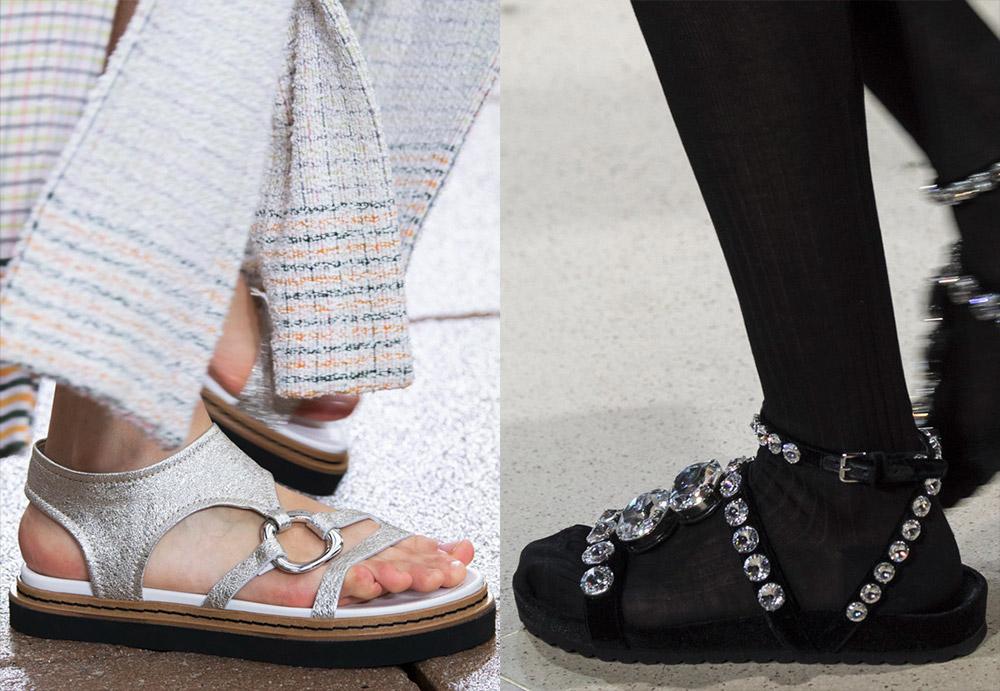Женские сандалии 2019