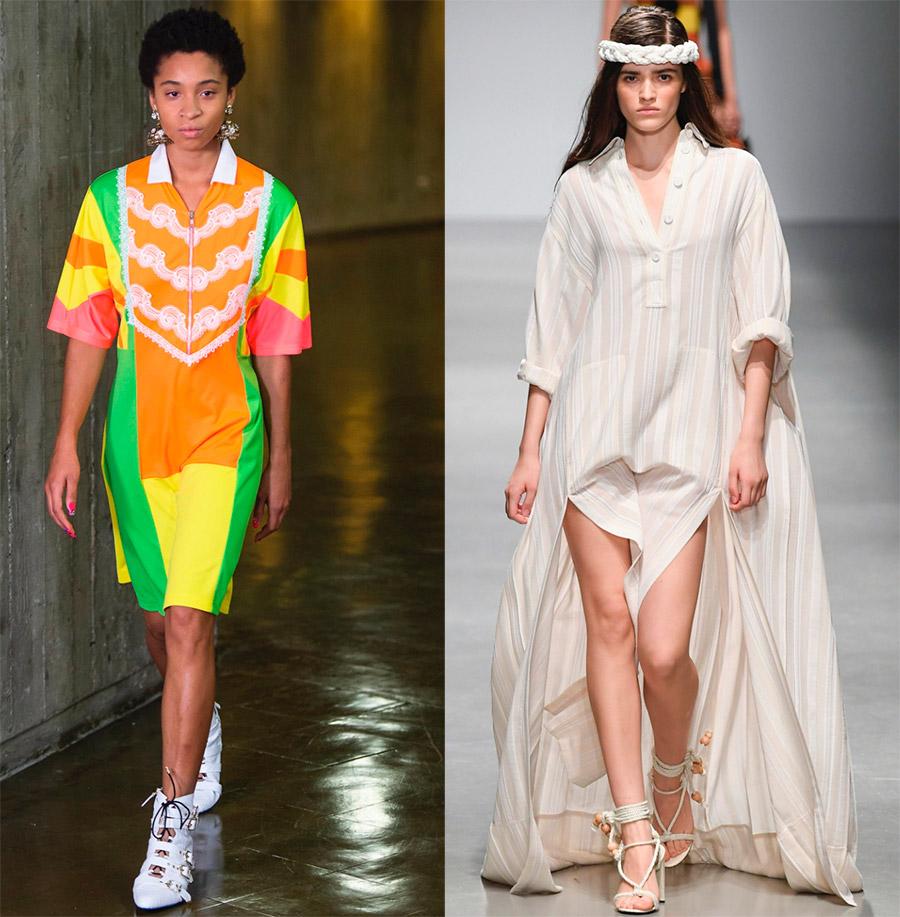 Спортивный стиль и платье-поло