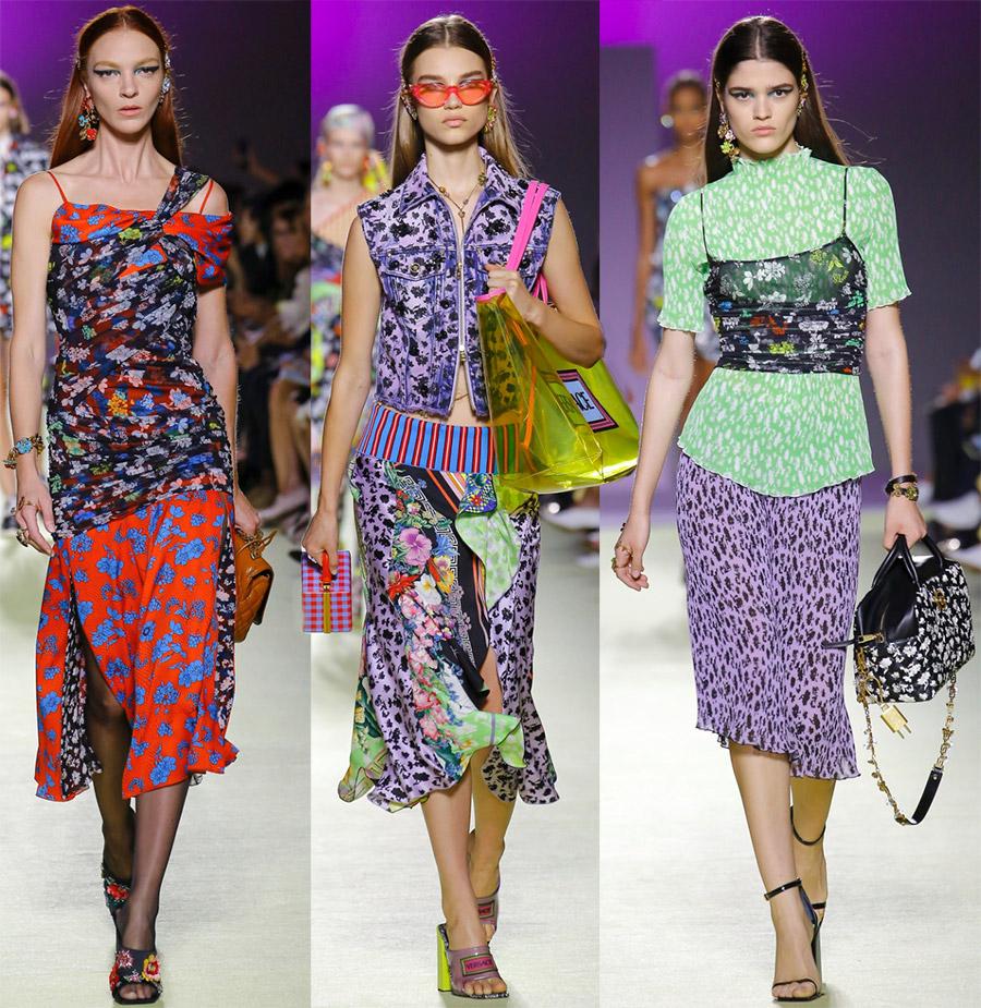 Женская коллекция Versace