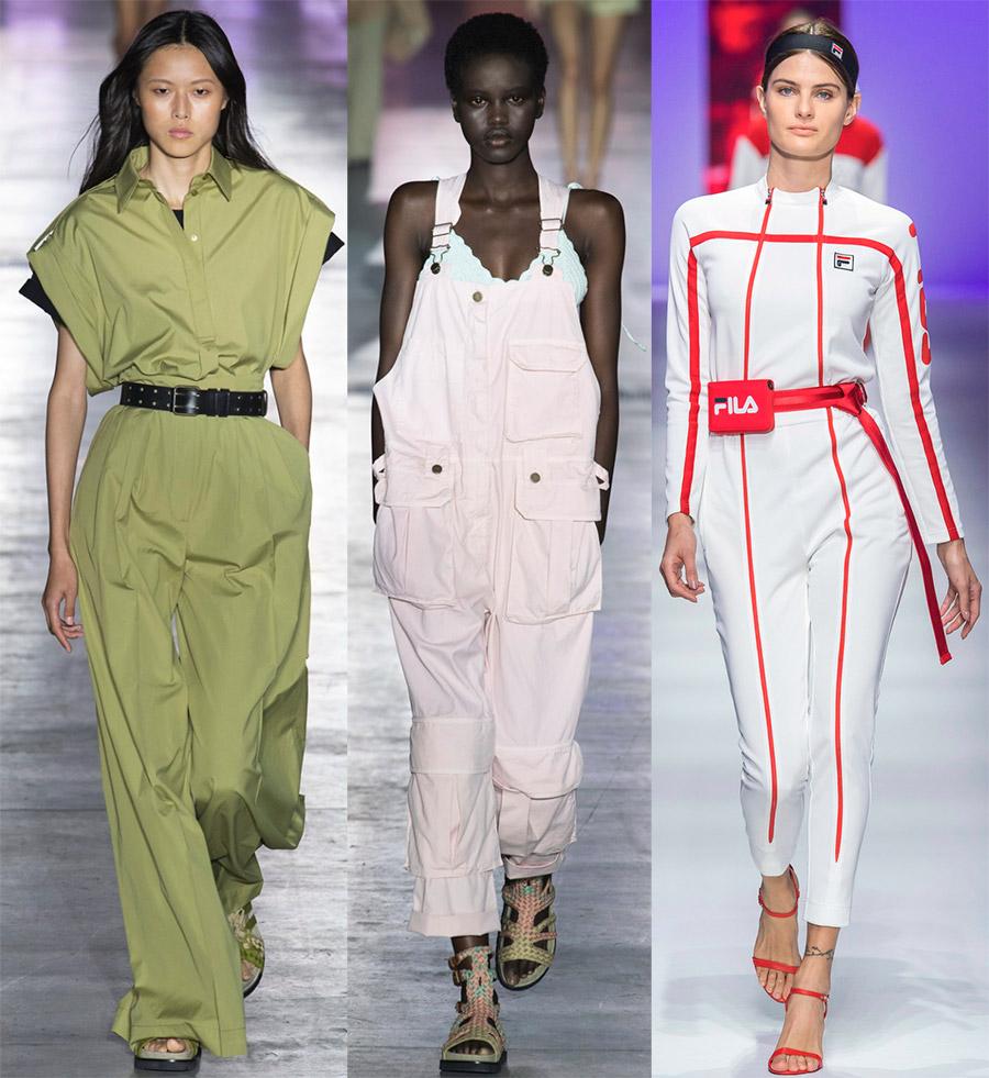 Комбинезоны от модных брендов – образы 2019