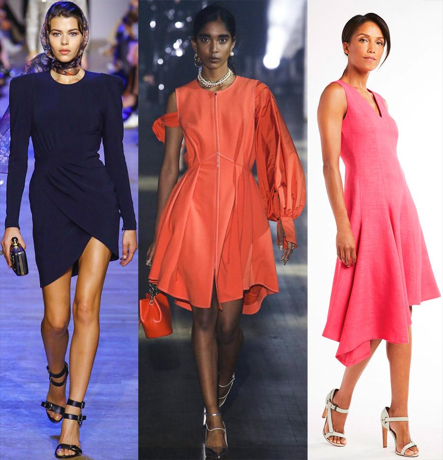 Красивые асимметричные платья