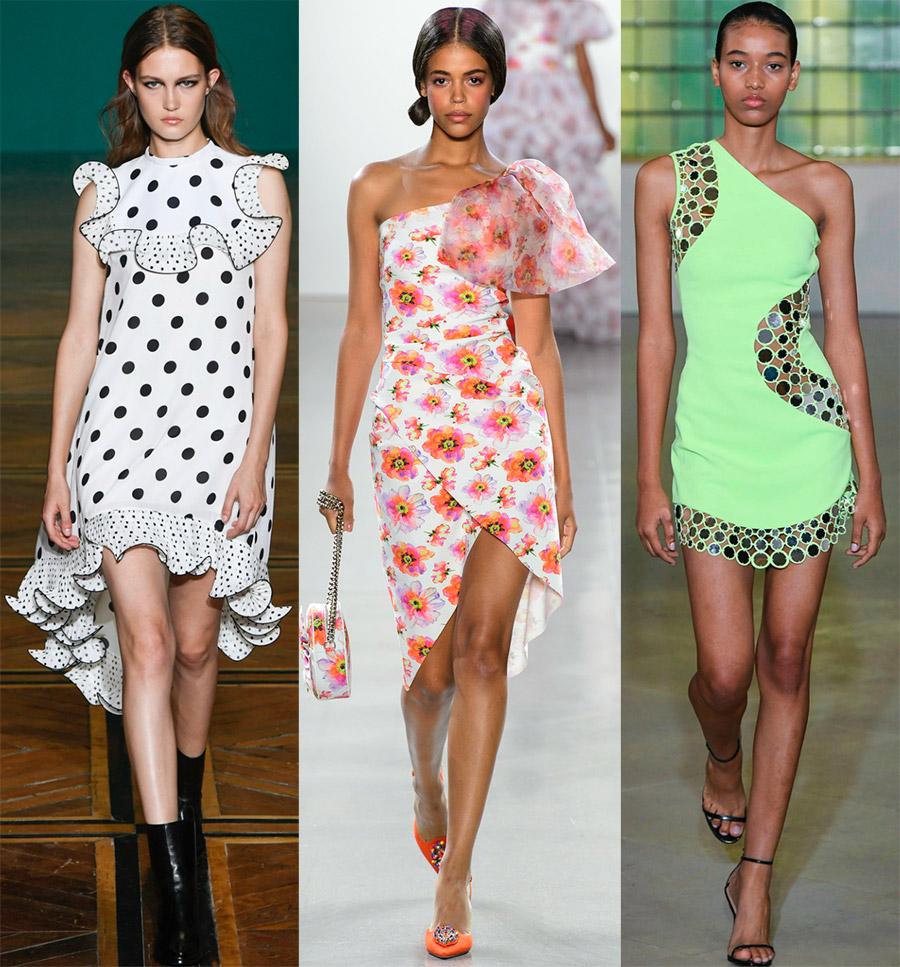 Красивые асимметричные платья от модных брендов
