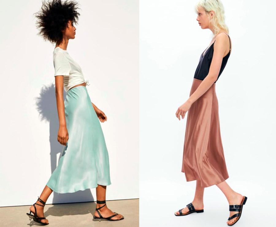 Универсальная модная юбка