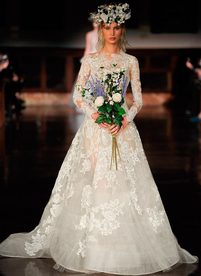 Невеста от Reem Acra