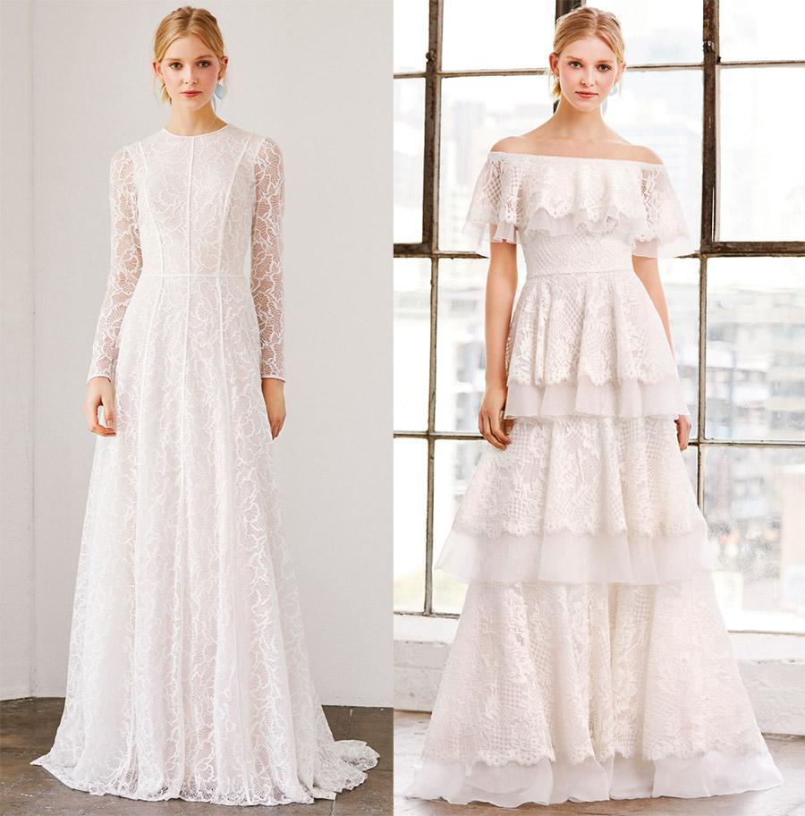 20 свадебных платьев в викторианском стиле