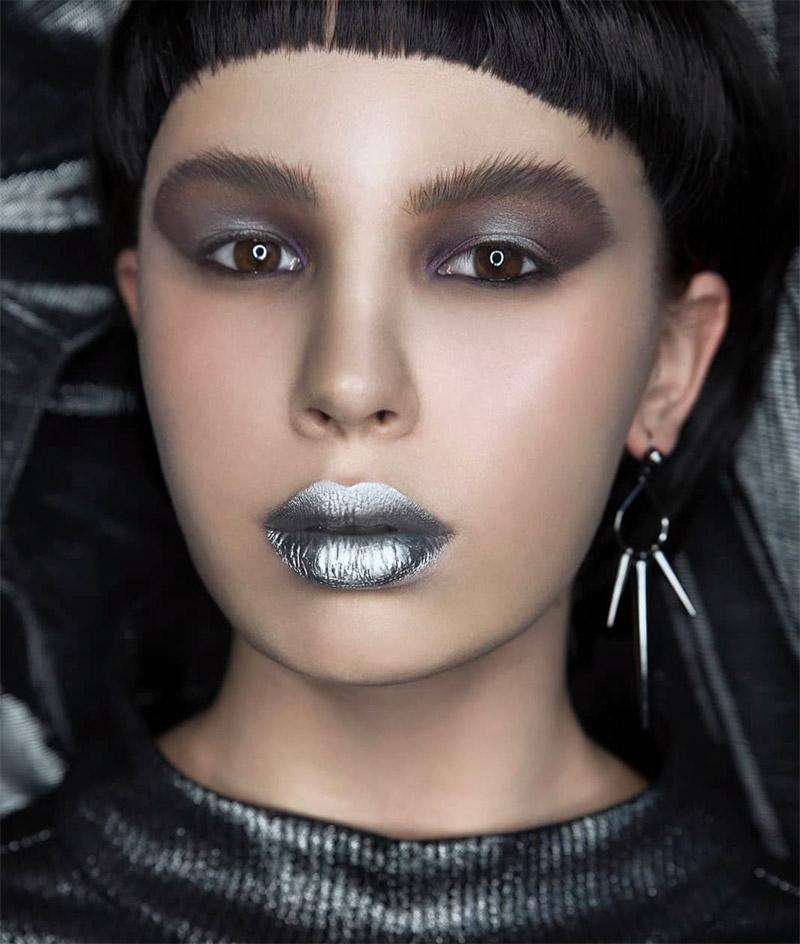 Серебряная помада от Tom Ford для фантазийного макияжа