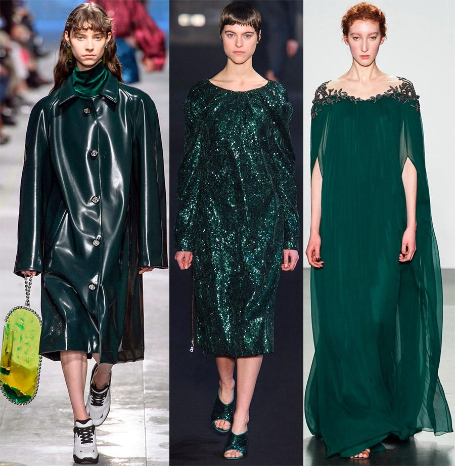 Modni zeleni odtenki