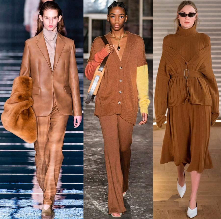 Modne barve v oblačilih.