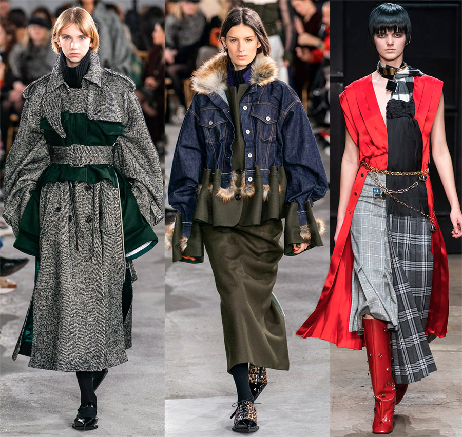Модный тренд – деконструктивизма