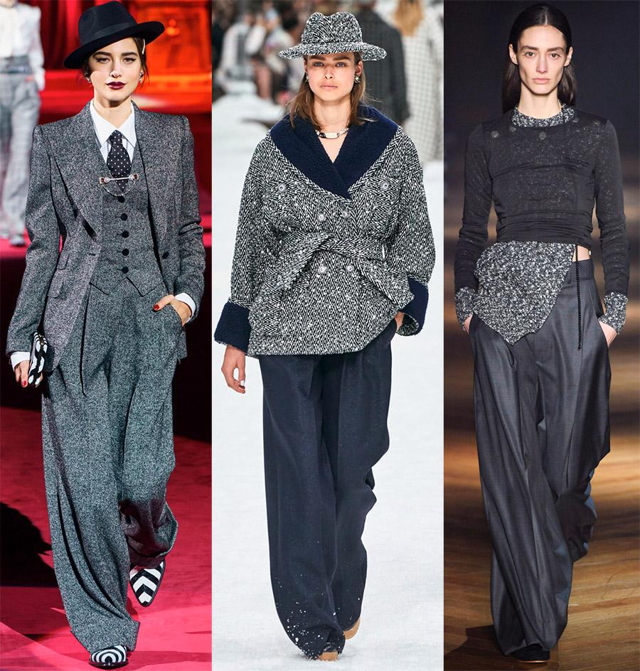 Широкие женские брюки 2020