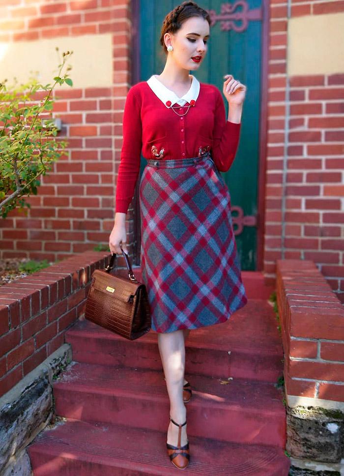 Как одеваться в винтажном стиле