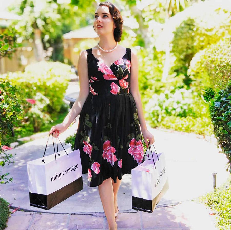 Покупаем винтажное платье