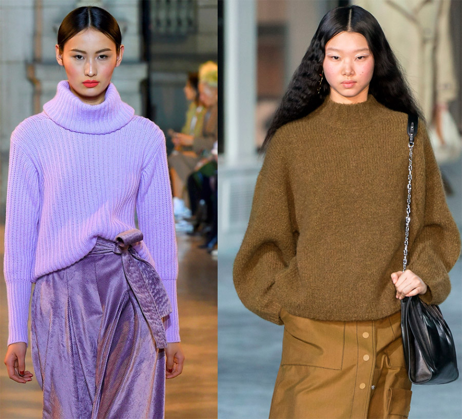 женские свитера 2019-2020 года