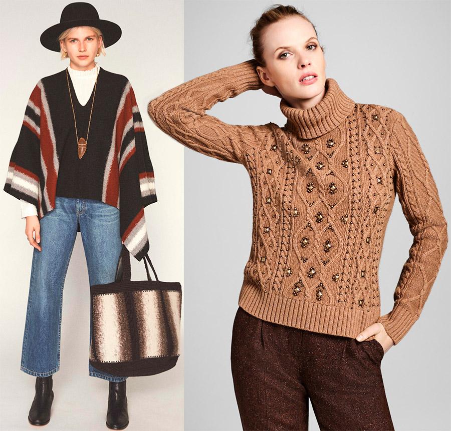 Красивые женские свитера