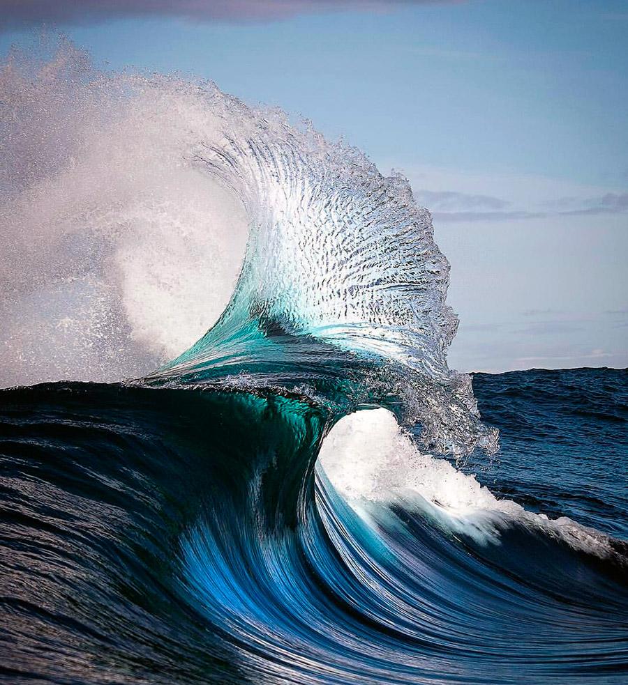 Картинки красивые волны океана