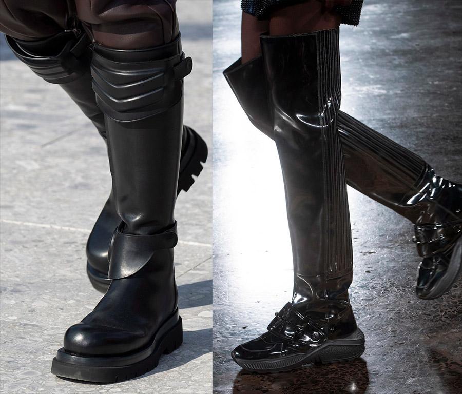 Модные брутальные сапоги