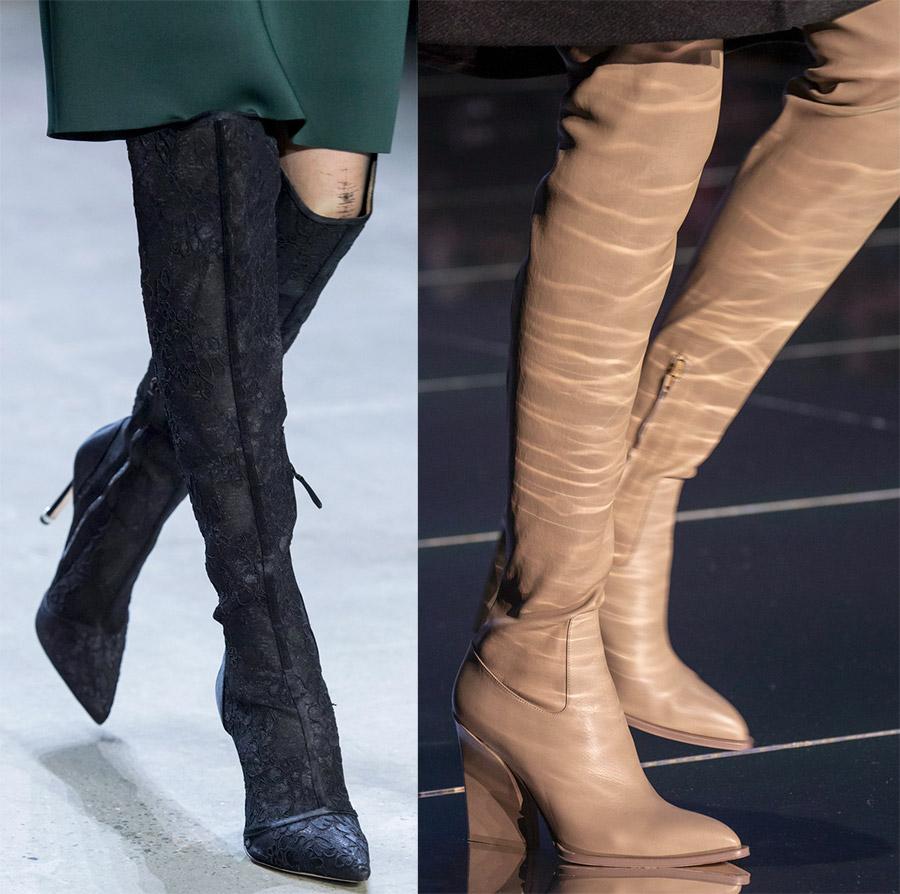 Модные женские сапожки