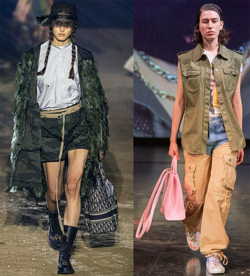 Актуальные стили в моде весна-лето 2020