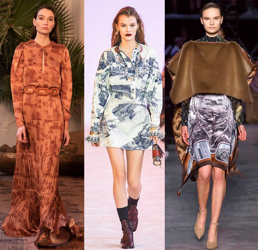 krajina tiskne v módě