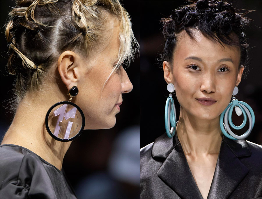 Модные серьги 2020 года