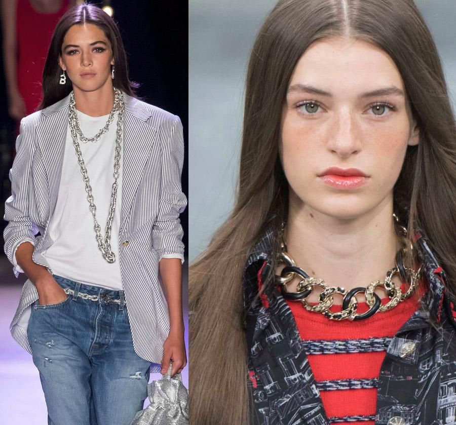 Цепи – модный тренд 2020
