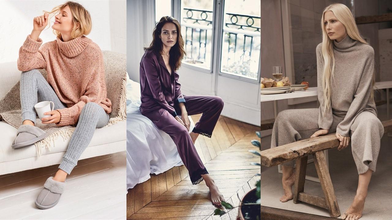 Модная одежда для дома – идеальные домашние образы