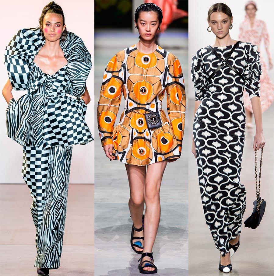 Модные принты в одежде 2020