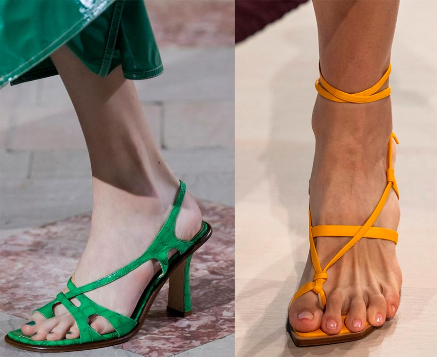 Летняя обувь для девушек
