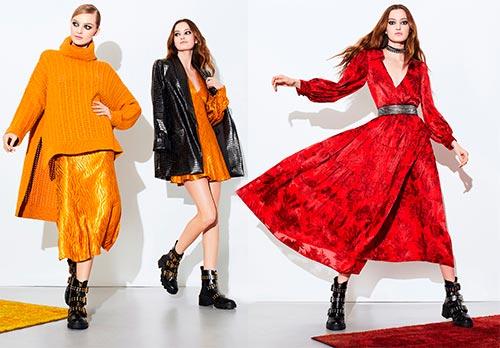 Яркая модная одежда