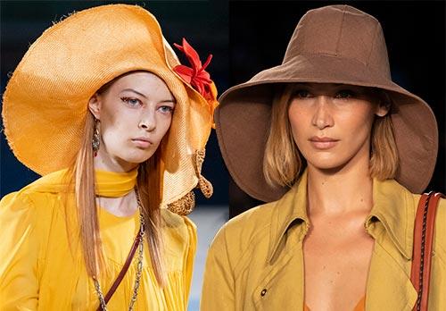 Модные шляпы 2020