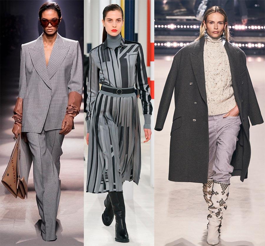 Серые оттенки в моде