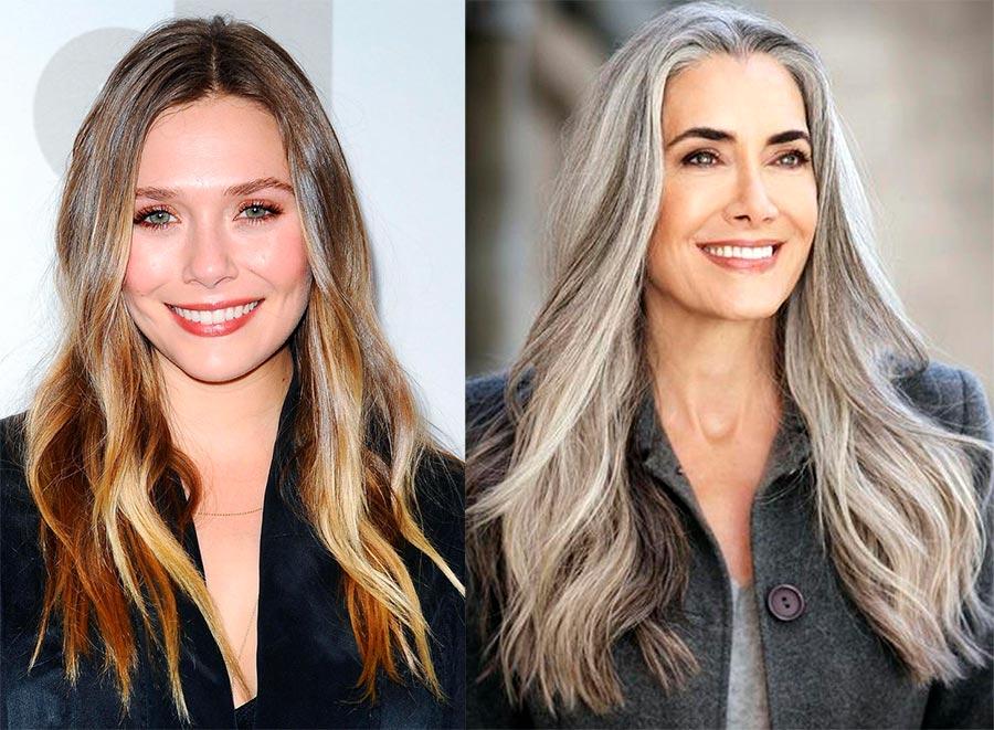 Окрашивание волос, которое молодит