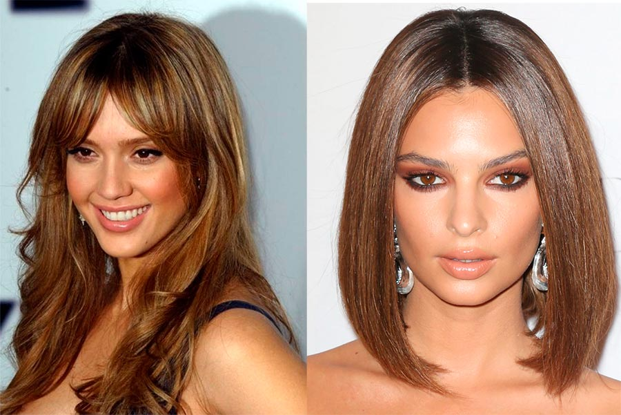 Какие оттенки волос молодят женщин