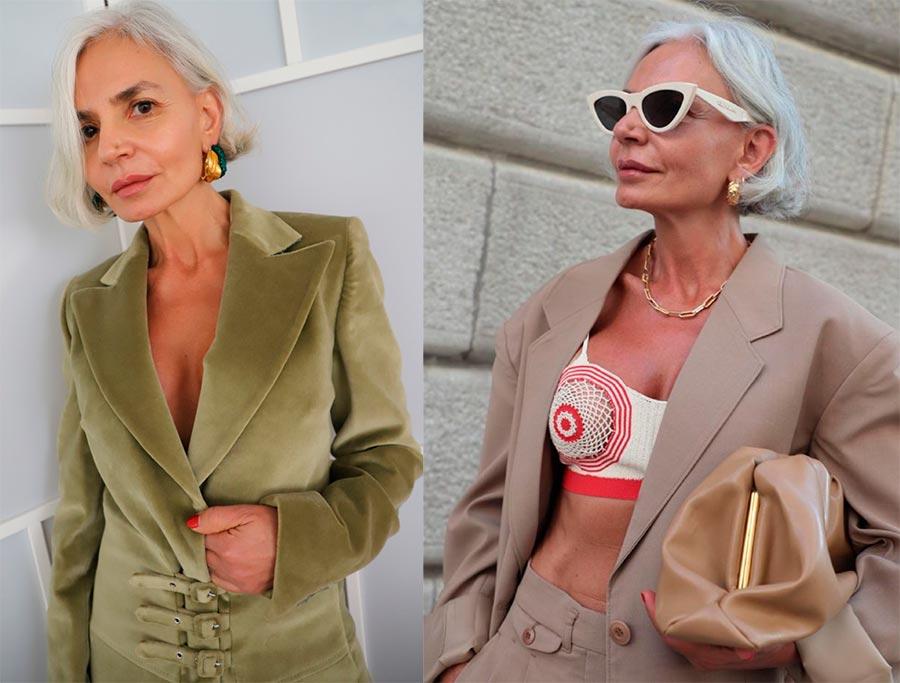 Красивая мода после 50