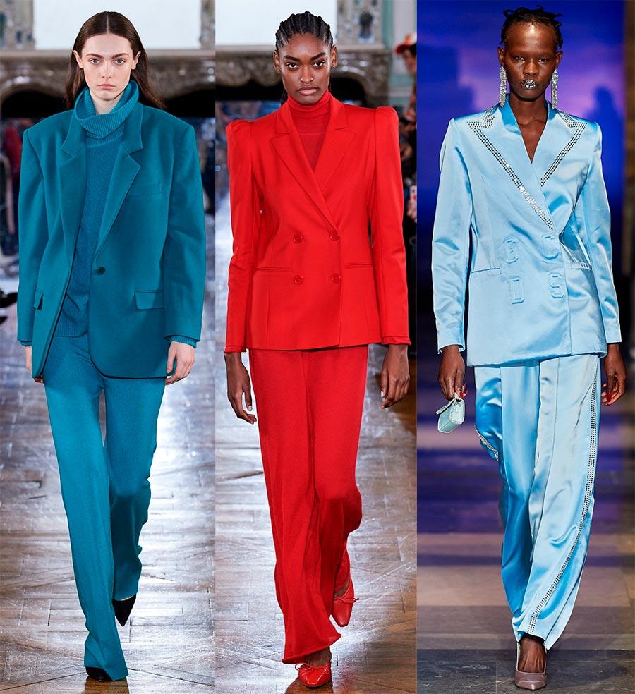 Яркие женские костюмы