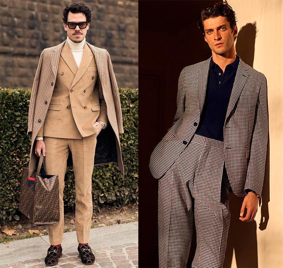 Правила подбора мужского костюма
