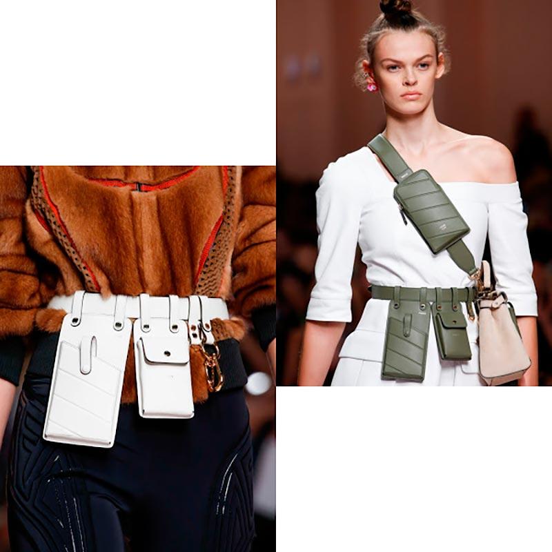 Модные поясные сумочки