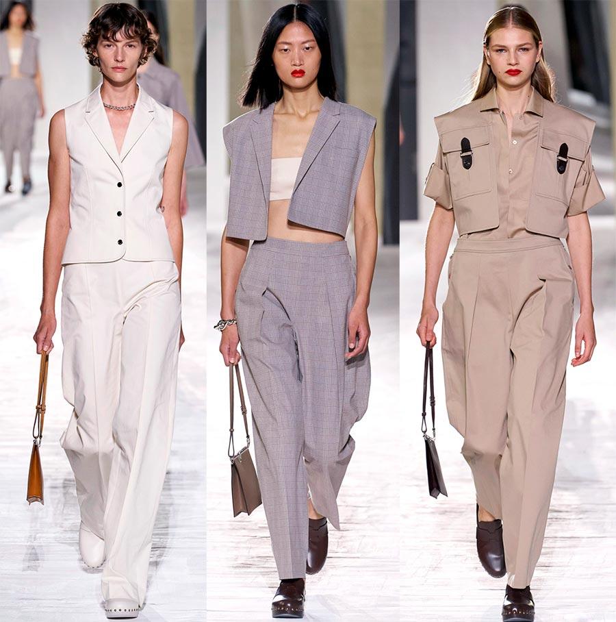 Женские костюмы Hermès