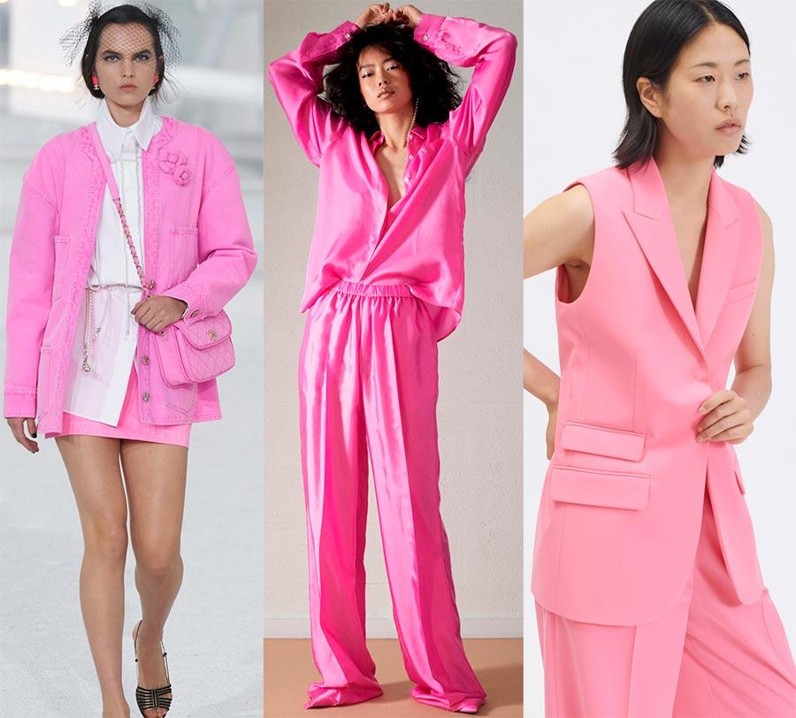 Образы розовых оттенков