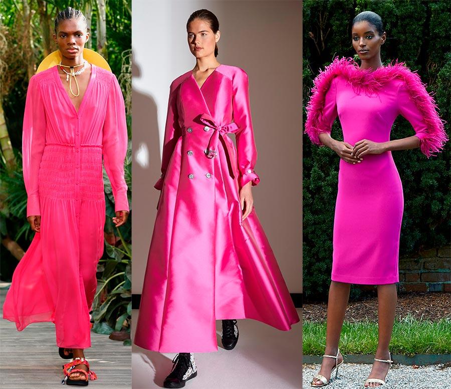 Малиновые платья 2021