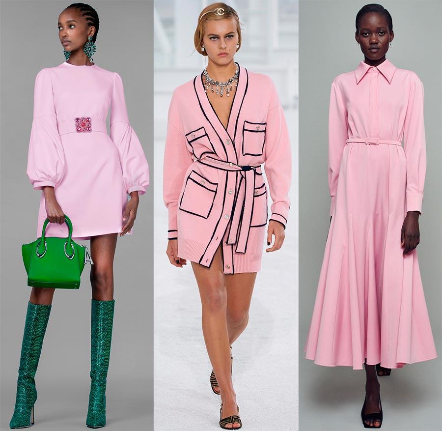 Нежные розовые наряды
