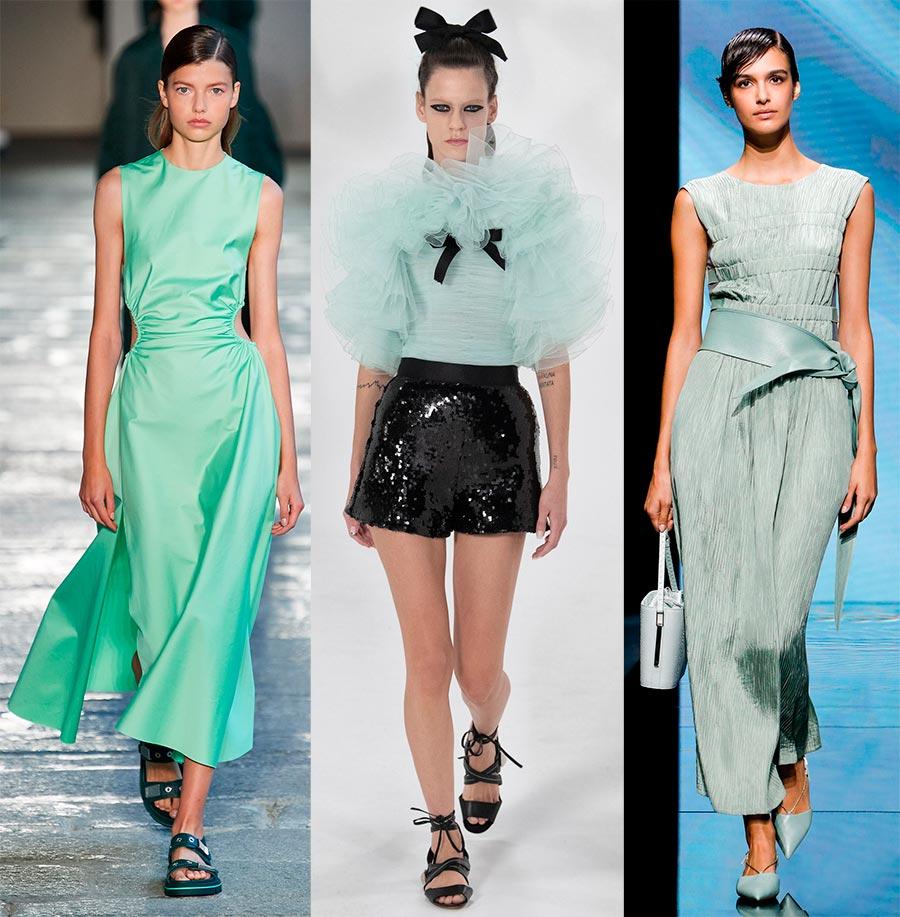 Пастельные оттенки в одежде