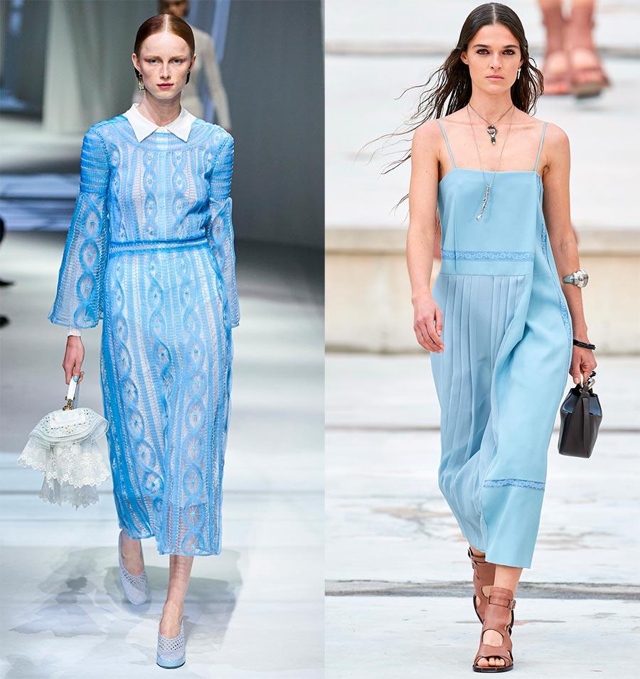 Модные оттенки одежды