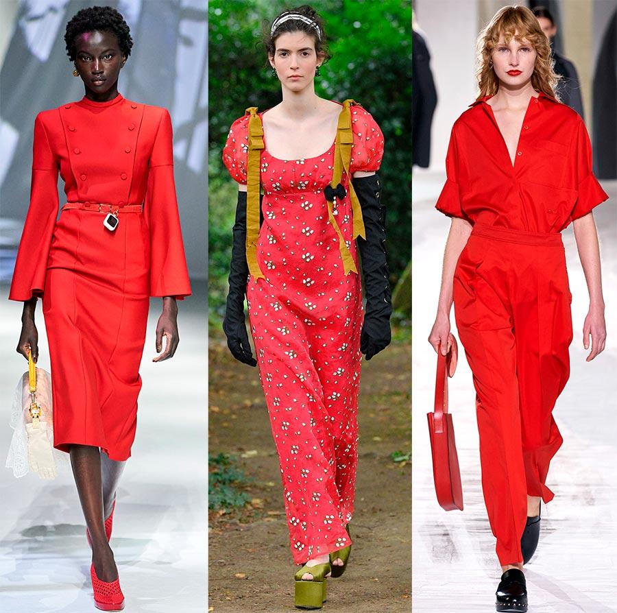Образы красных оттенков