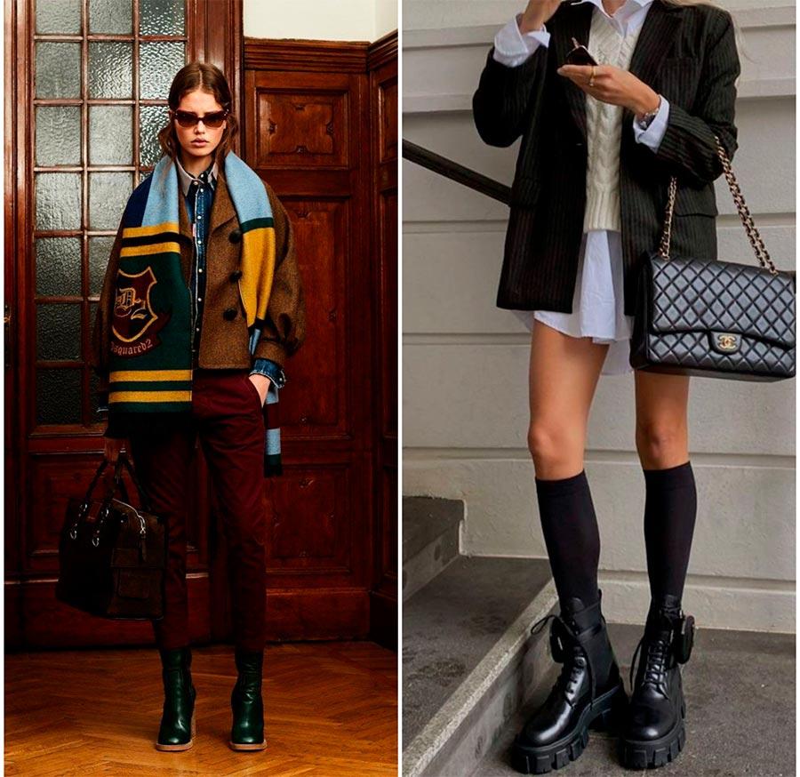 Смешение стилей в одежде