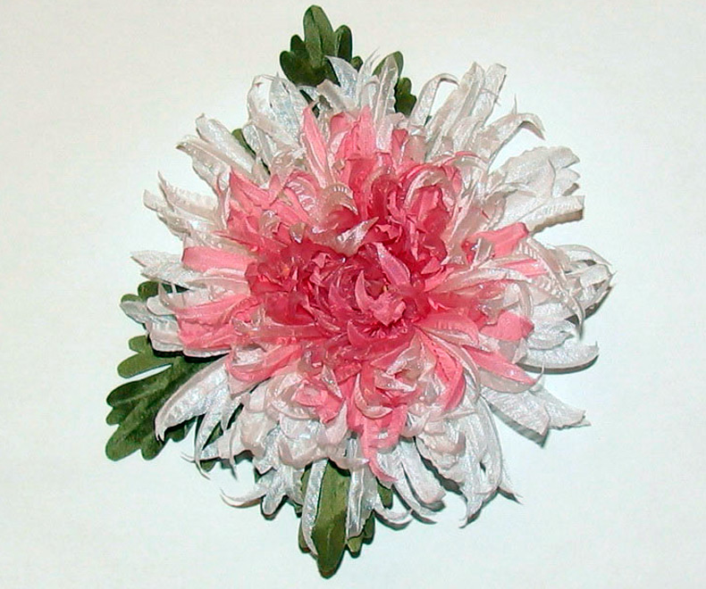 Как сделать цветы из ткани – история